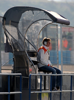 Nico Hulkenberg, Force India F1, Test Driver