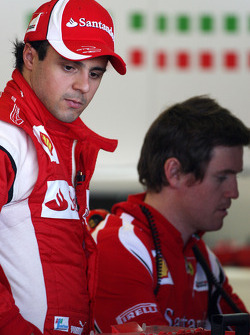 Felipe Massa, Scuderia Ferrari, Rob Smedly,, Scuderia Ferrari, Chief Engineer of Felipe Massa