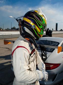 Patrick Long, #38 Autometrics Motorsports Colours Inc. Porsche GT3: Fernando Pena