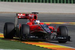 Timo Glock, Marussia Virgin Racing, MVR-02- Formula 1 Testing