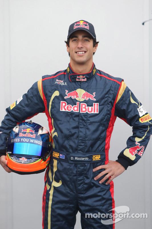 Testfahrer Daniel Ricciardo, Scuderia Toro Rosso