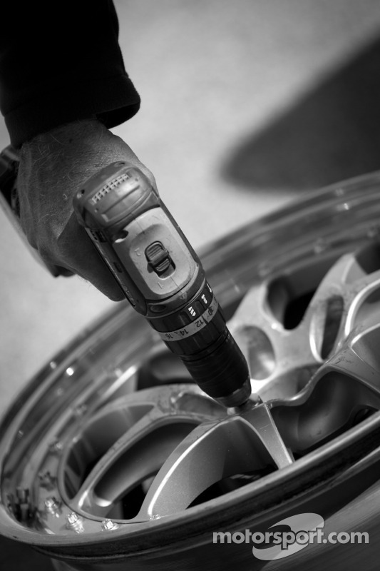 Wheel preparation