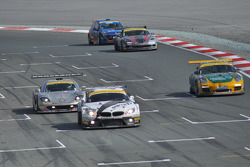 Last lap for #76 Need for Speed Schubert BMW Z4 GT3: Augusto Farfus, Edward Sandström, Tom Milner, Claudia Hürtgen
