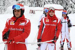 Felipe Massa, Scuderia Ferrari, Jules Bianchi piloto de pruebas Scuderia Ferrari