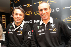 Présentation Delta Q BMW X-Raid : Ricardo Leal dos Santos et Stéphane Peterhansel