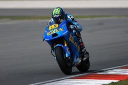 Alvaro Bautista de Rizla Suzuki MotoGP