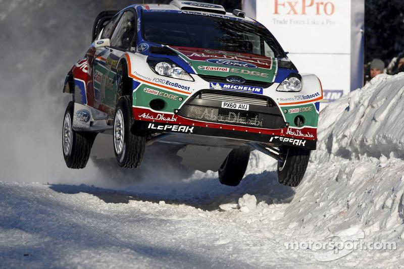 Мікко Хірвонен і Ярмо Лехтінен, Ford Fiesta RS WRC, Ford Abu Dhabi World Rally Team