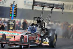 David Grubnic aboard his Kalitta Air Top Fuel Dragster