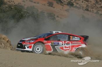 Federico Villagra and Jorge Perez Companc, Ford Fiesta RS WRC, Munchi's Ford World Rally Team