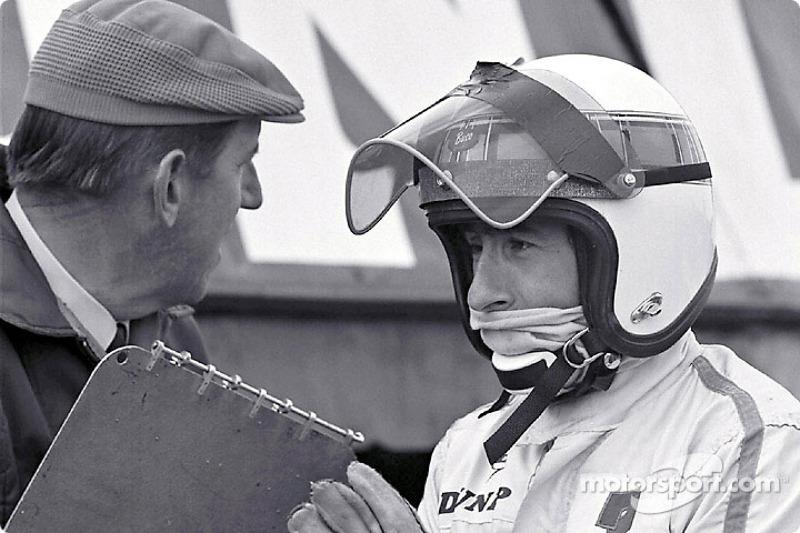 Ken Tyrrell and Jackie Stewart