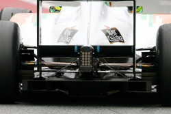 Force India F1 Team technical detail, diffuser