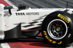Hispania Racing F1 Team F111: Frontpartie