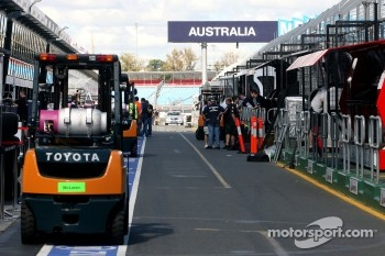 Melbourne is ready for the first race of the year
