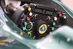 Team Lotus steering wheel