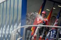 Podio: tercer lugar Nicky Hayden, Ducati Team