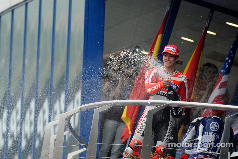 Jerez 2011: Letzer MotoGP-Podestplatz