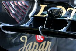 Lotus Renault GP, Technical detail, rear wing