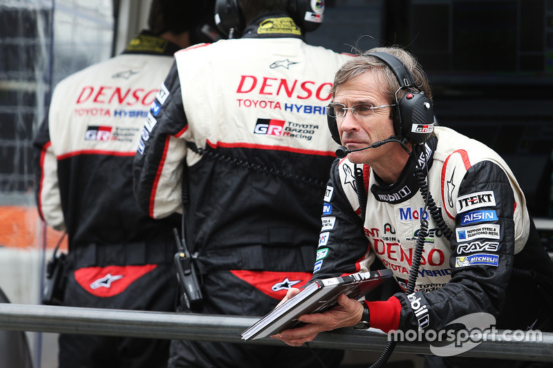 Pascal Vasselon, Toyota Racing technical director