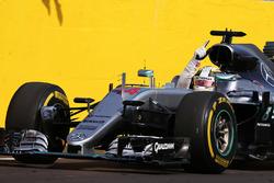 Il vincitore Lewis Hamilton, Mercedes AMG F1 W07 Hybrid