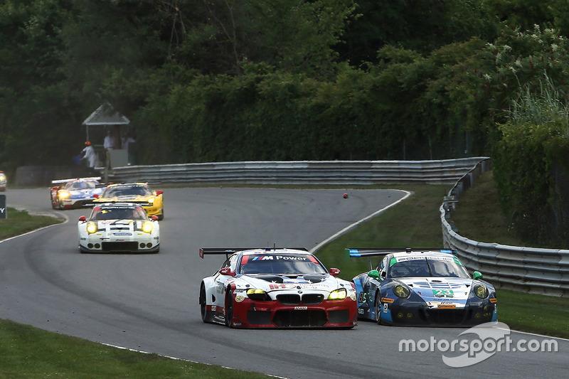 #25 BMW Team RLL BMW M6 GTLM: Bill Auberlen, Dirk Werner, #23 Team Seattle/Alex Job Racing Porsche GT3 R: Mario Farnbacher, Alex Riberas