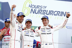 Race winnaars #1 Porsche Team Porsche 919 Hybrid: Timo Bernhard, Mark Webber, Brendon Hartley