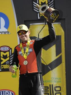 Ganador en Pro Stock Bike, Andrew Hines