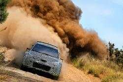 Toyota Yaris WRC 2017 testing