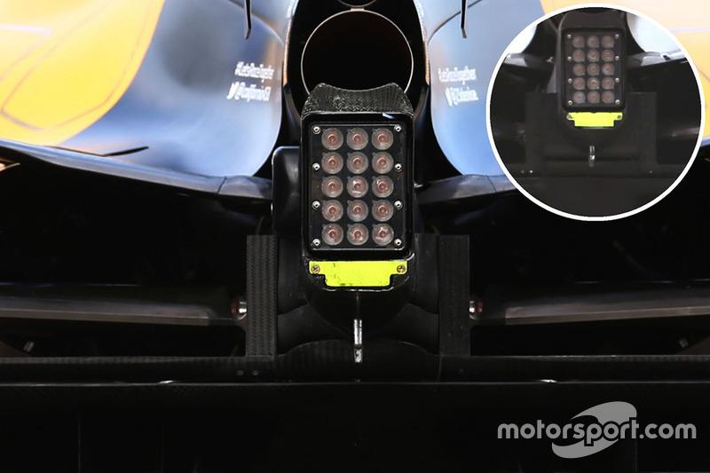 Renault Sport F1 Team RS16 crashstructuur vleugel detail