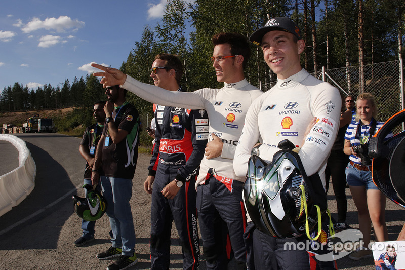 Тьєррі Ньовілль, Hyundai Motorsport, Хейден Паддон, Hyundai Motorsport