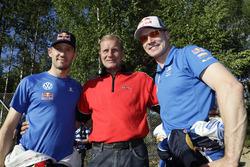 Sébastien Ogier, Volkswagen Motorsport, Jari-Matti Latvala, Volkswagen Motorsport with Juha Kankkunen
