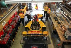Box: Ryan Hunter-Reay, Andretti Autosport, Honda