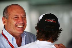 Ron Dennis, McLaren Executive Chairman with Fernando Alonso, McLaren