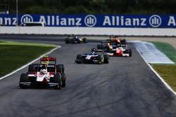 Sergey Sirotkin, ART Grand Prix leads the field