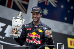 Даниэль Риккардо, Red Bull Racing на подиуме