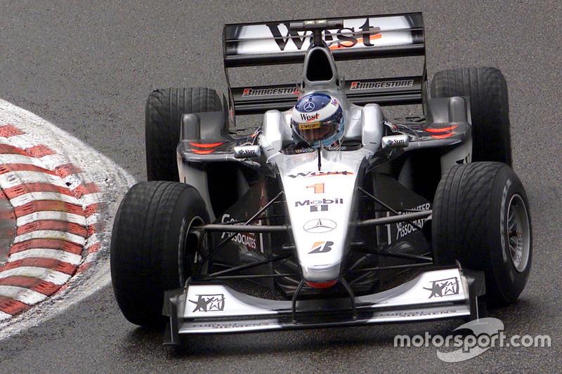 2000: Mika Hakkinen, McLaren-Mercedes MP4-15