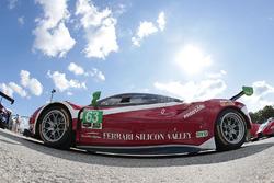 #63 Scuderia Corsa Ferrari 488 GTD: Christina Nielsen, Alessandro Balzan