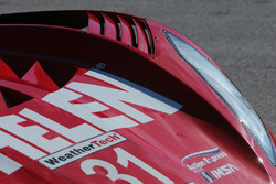 Detail of #31 Action Express Racing Corvette DP: Eric Curran, Dane Cameron