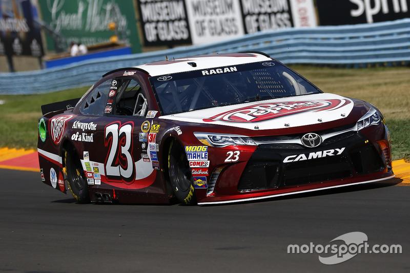 33. David Ragan, BK Racing, Toyota (Crash)