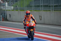 Marc Marquez, Repsol Honda Team in the pitlane
