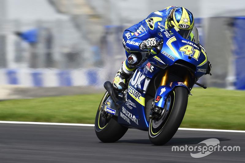 Ausgefallen: Aleix Espargaro, Team Suzuki MotoGP
