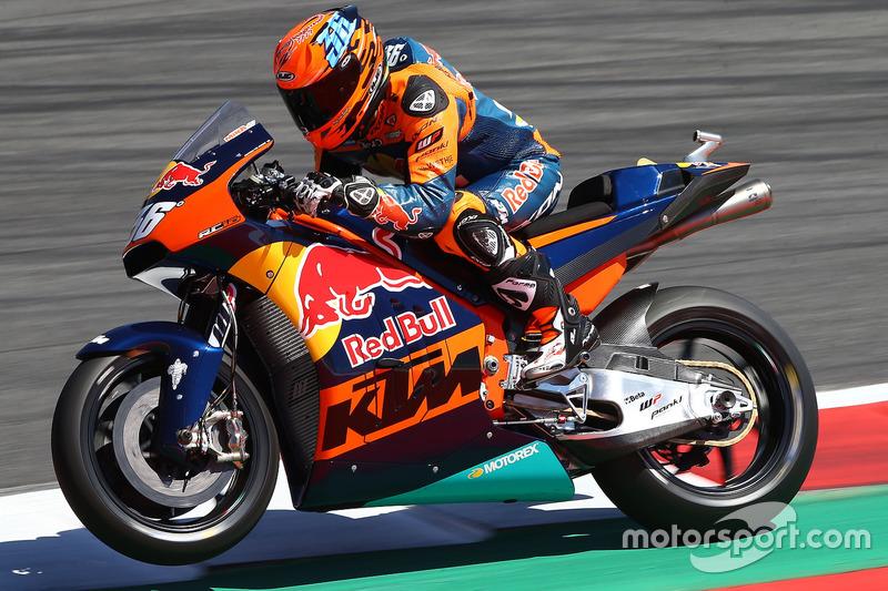 Bildergalerie demorunden von ktm mit dem neuen motogp bike - Image de moto ktm ...