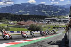 Андреа Янноне, Ducati Team, Андреа Довіціозо, Ducati Team, Валентино Россі, Yamaha Factory Racing