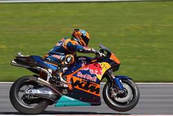 Mika Kallio, Red Bull KTM 2017 MotoGP, giri di dimostrazione della moto