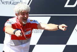 Podium: Gigi Dall'Igna, Ducati Team General Manager