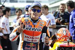 Polesitter Marc Marquez, Repsol Honda Team in parc ferme