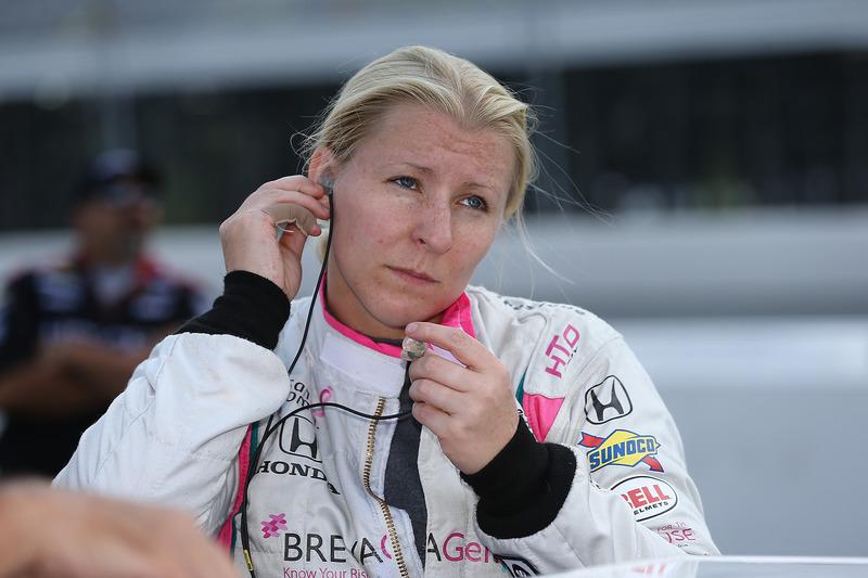 #63 Pippa Mann, Dale Coyne Racing / Honda