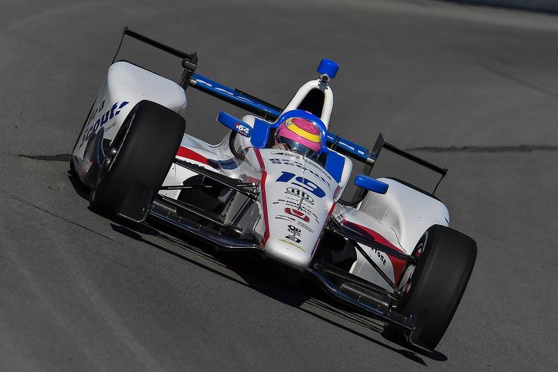 #61 Pippa Mann, Dale Coyne Racing / Honda