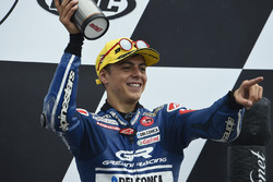 Podio: il terzo classificato Fabio Di Giannantonio, Gresini Racing Moto3