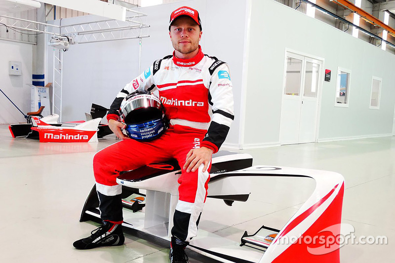 #19 Felix Rosenqvist, Mahindra Racing