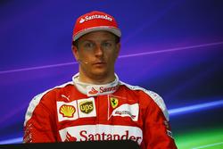 Кими Райкконен, Ferrari на пресс-конференции FIA
